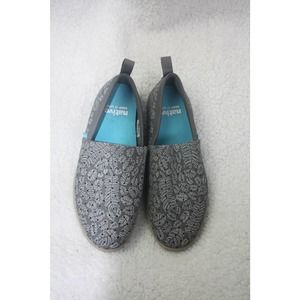Native Grey Print Shoe Womens 9